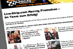 Aktuelle Informationen rund um das Live-Strip.com Racing Team
