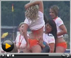 Die Promotion-Girls des Live-Strip.com Racing Teams